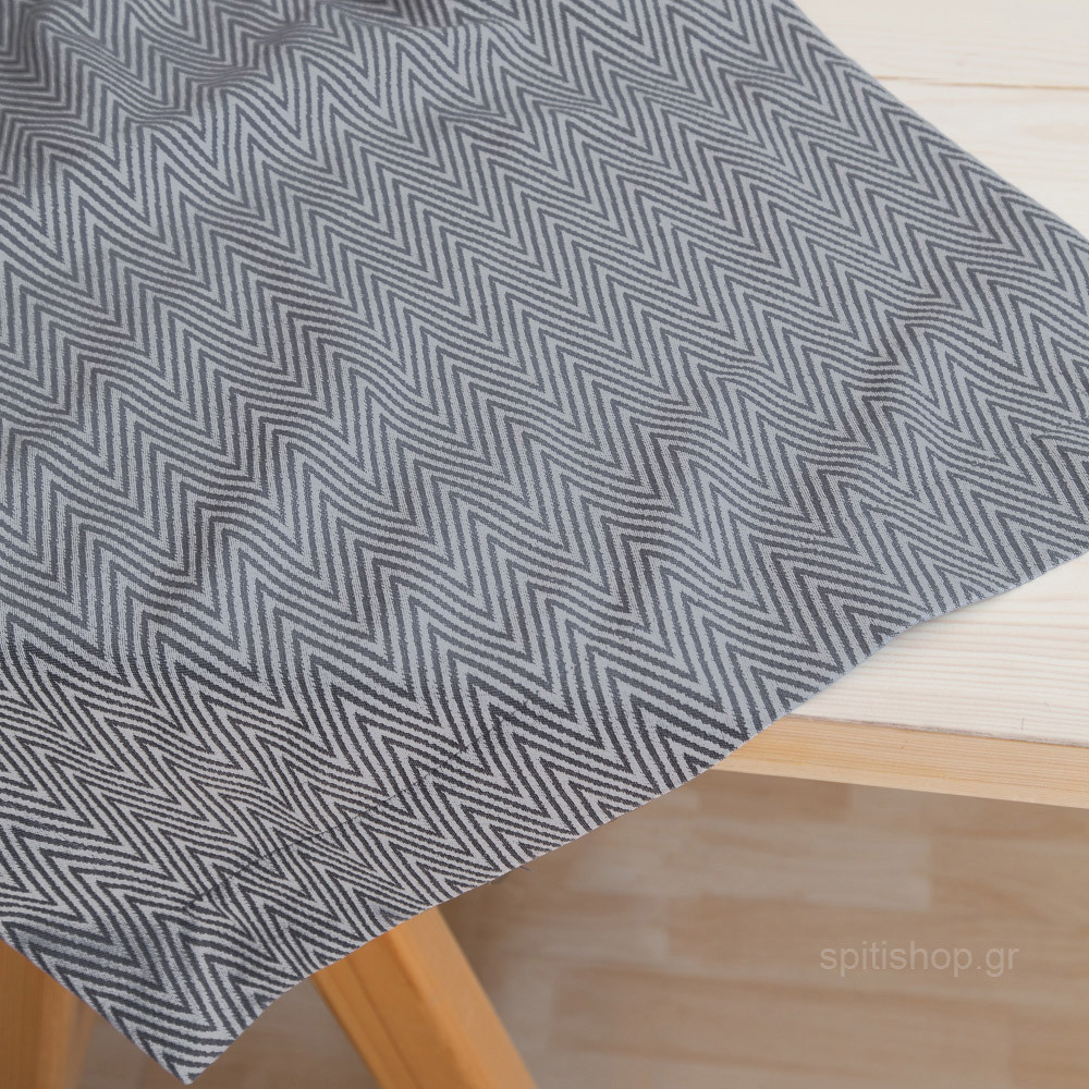 Τραβέρσα Nima Table Linen Vogue Dark Grey