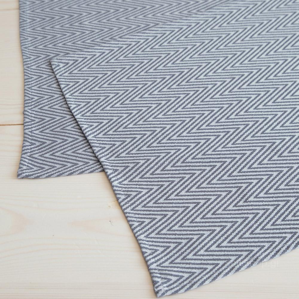 Σουπλά (Σετ 2τμχ) Nima Table Linen Vogue Dark Grey
