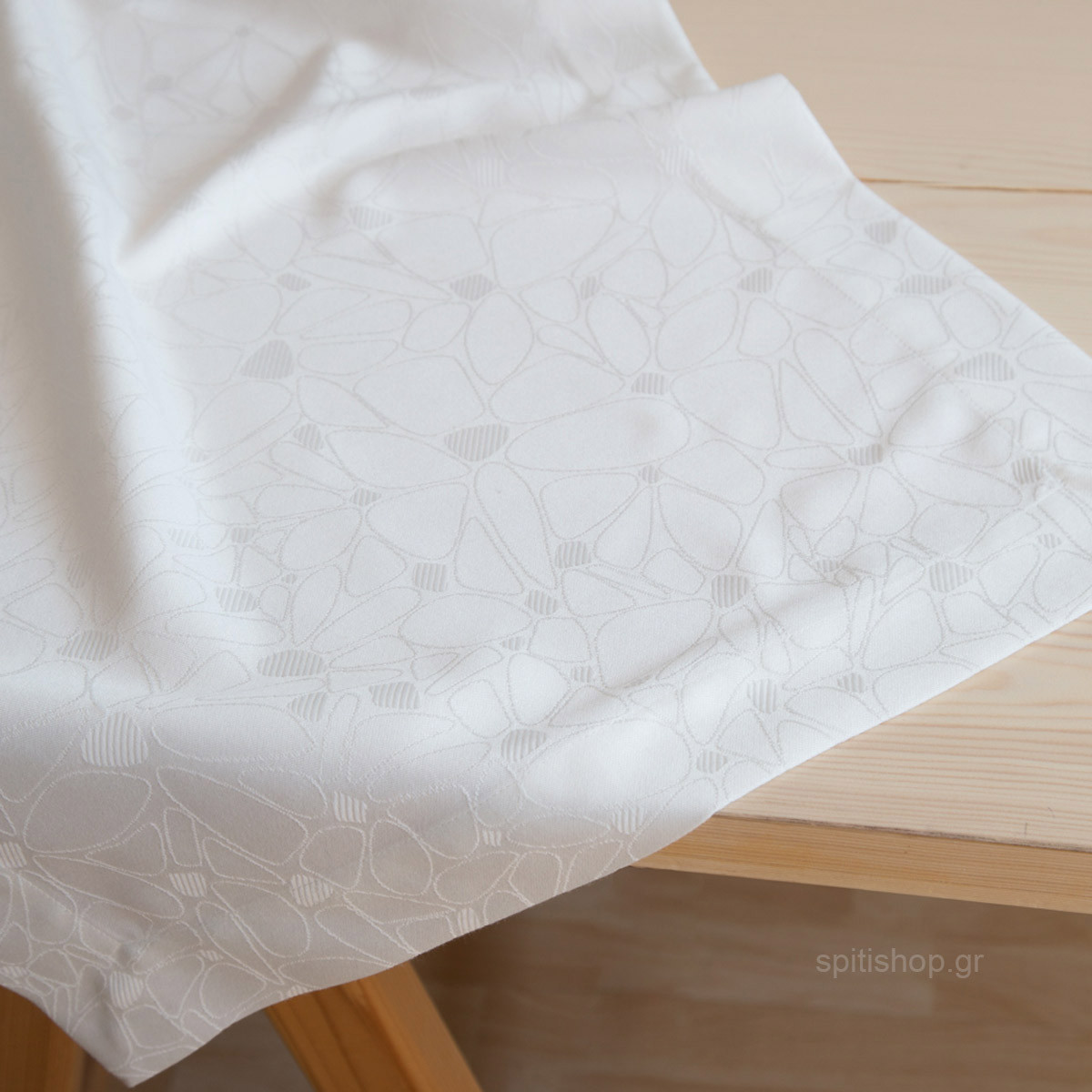 Τραβέρσα Nima Table Linen Fleur Off White