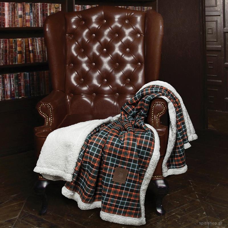 Κουβέρτα Καναπέ Polo Club Premium 2434