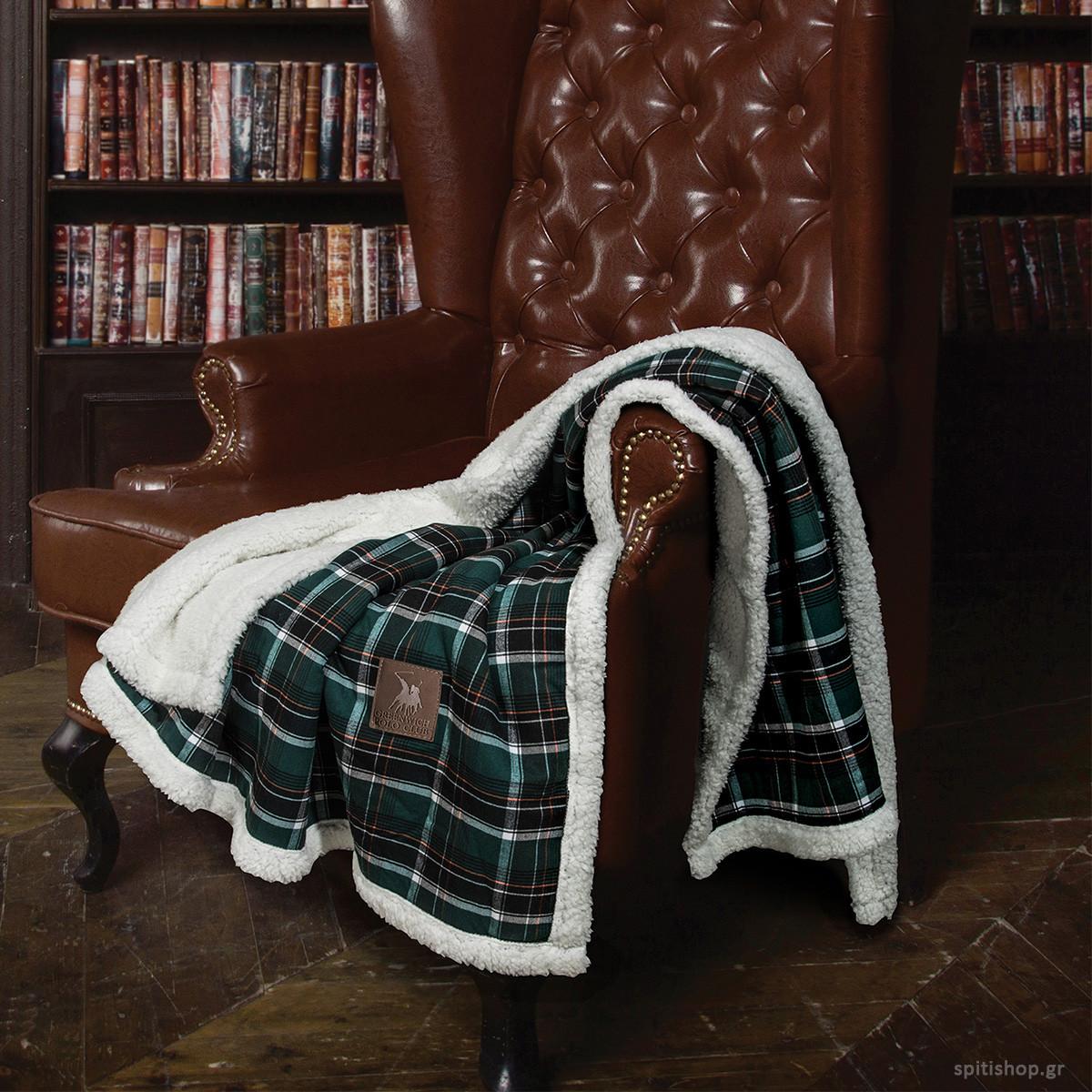 Κουβέρτα Καναπέ Polo Club Premium 2435
