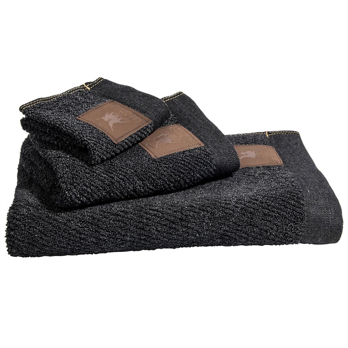 Πετσέτες Μπάνιου (Σετ 3τμχ) Polo Club Essential 2525