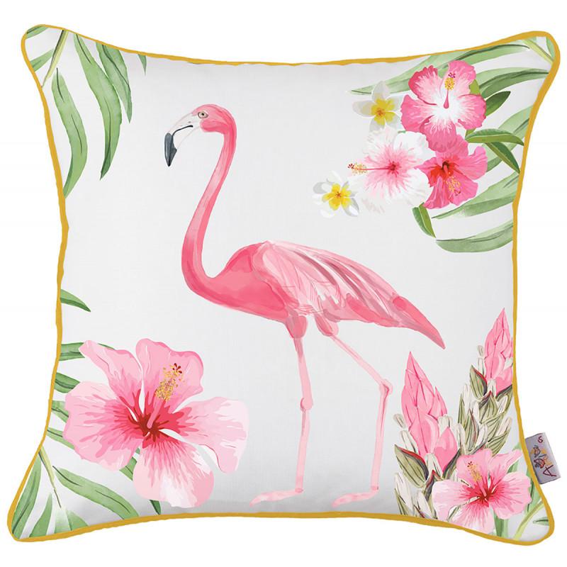 Διακοσμητική Μαξιλαροθήκη (43x43) Apolena Flamingo Rose 702-5895/1