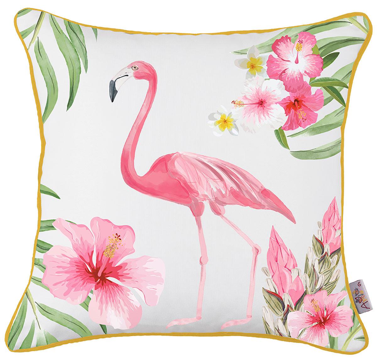 Διακοσμητική Μαξιλαροθήκη (43×43) Apolena Flamingo Rose 702-5895/1