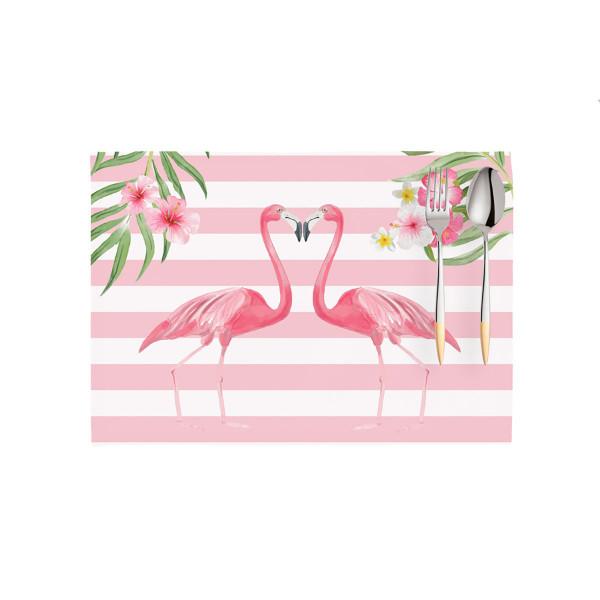 Σουπλά (Σετ 2τμχ) Apolena Flamingo Rose 790-5818/1