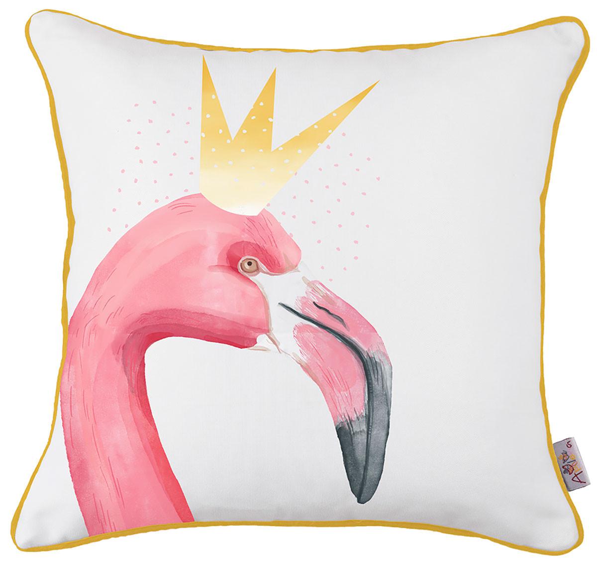 Διακοσμητική Μαξιλαροθήκη Apolena Flamingo Rose 702-5889/1