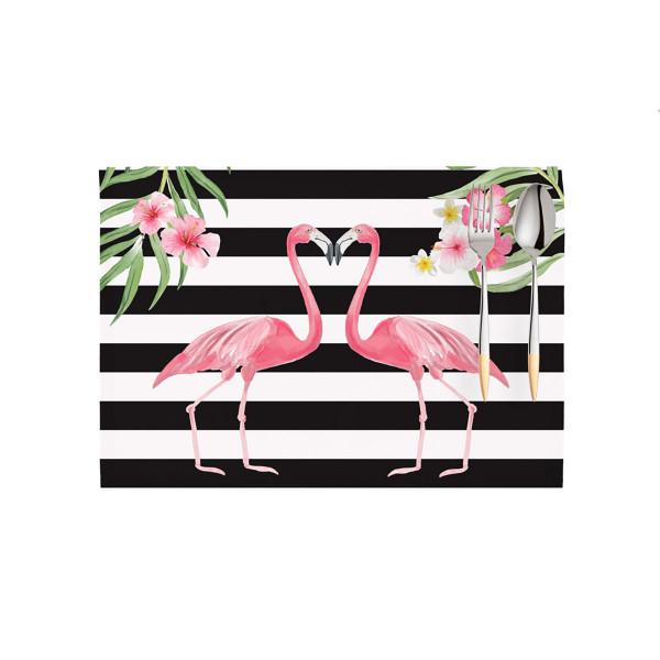 Σουπλά (Σετ 2τμχ) Apolena Flamingo Clear 790-5818/2