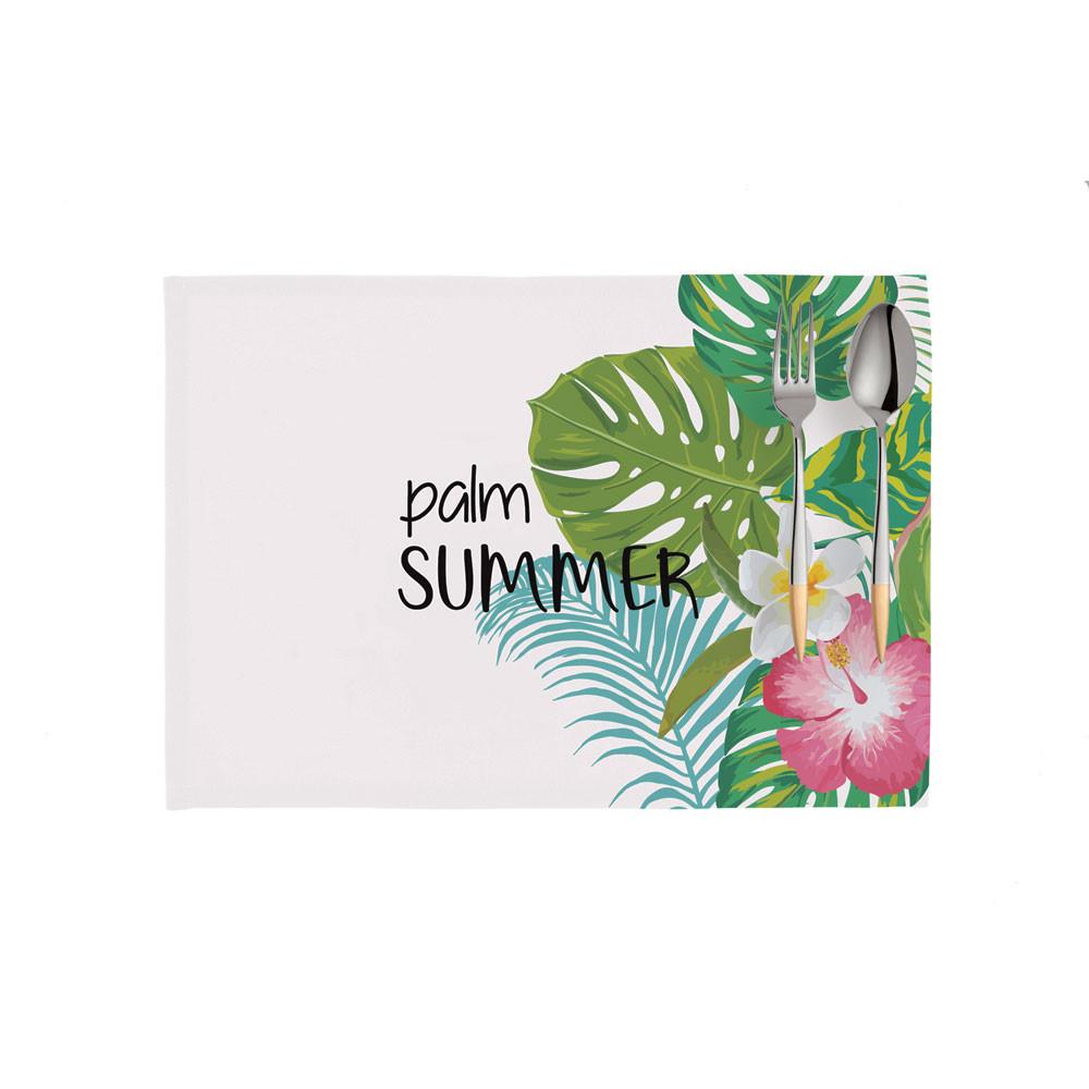 Σουπλά (Σετ 2τμχ) Apolena Palm Summer 790-5811/1