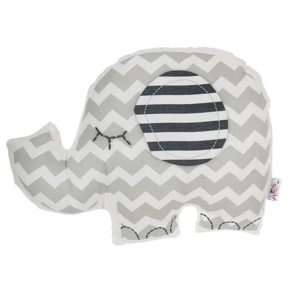 Διακοσμητικό Μαξιλάρι Apolena Ελέφαντας Γκρι
