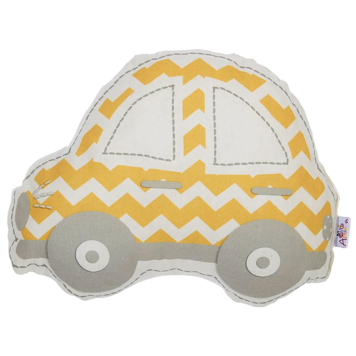 Διακοσμητικό Μαξιλάρι Apolena Αυτοκίνητο Κίτρινο
