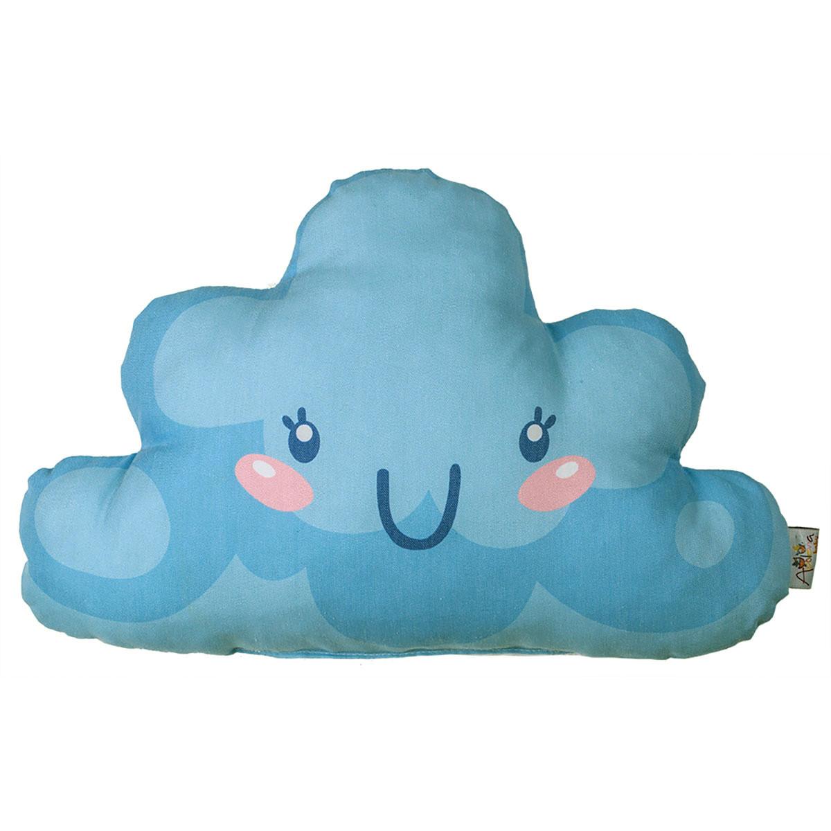 Διακοσμητικό Μαξιλάρι Apolena Σύννεφο Γαλάζιο