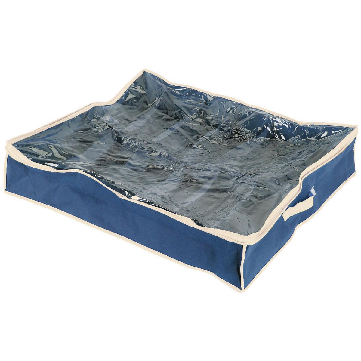 Θήκη Φύλαξης Παπουτσιών (76x60x15) εstia 03-5306 Blue home   κρεβατοκάμαρα   οργάνωση ντουλάπας