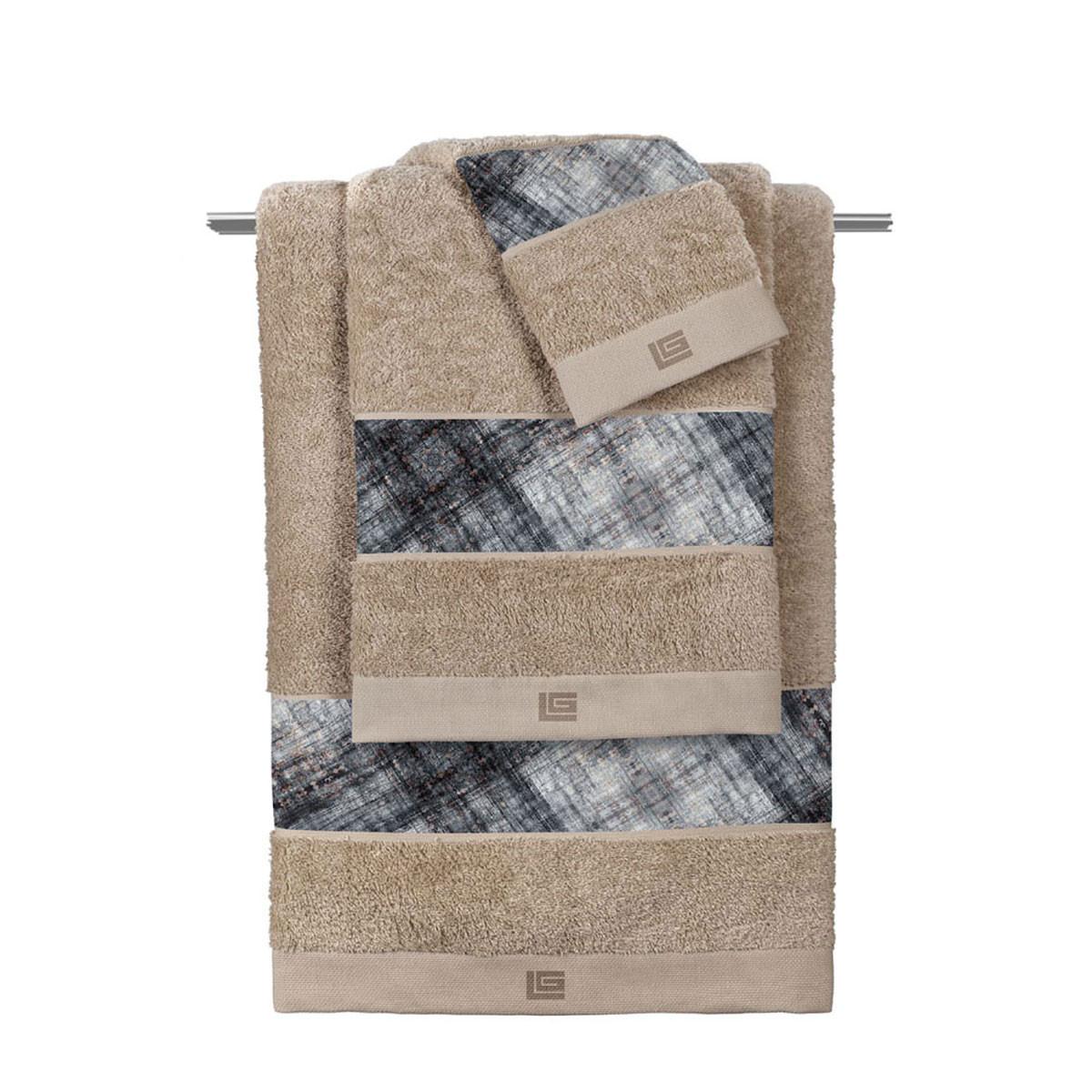 Πετσέτα Προσώπου (50x90) Guy Laroche Royal Black