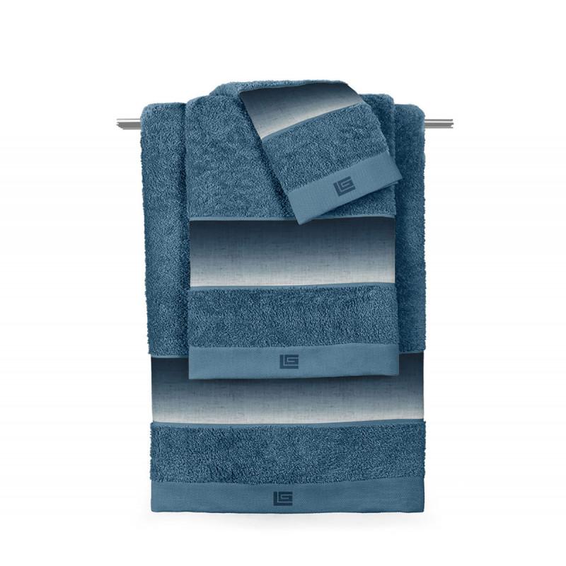 Πετσέτα Προσώπου (50x90) Guy Laroche Mykonos Petrol
