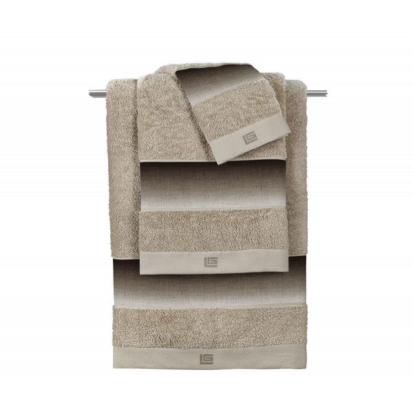 Πετσέτα Προσώπου (50x90) Guy Laroche Mykonos Beige