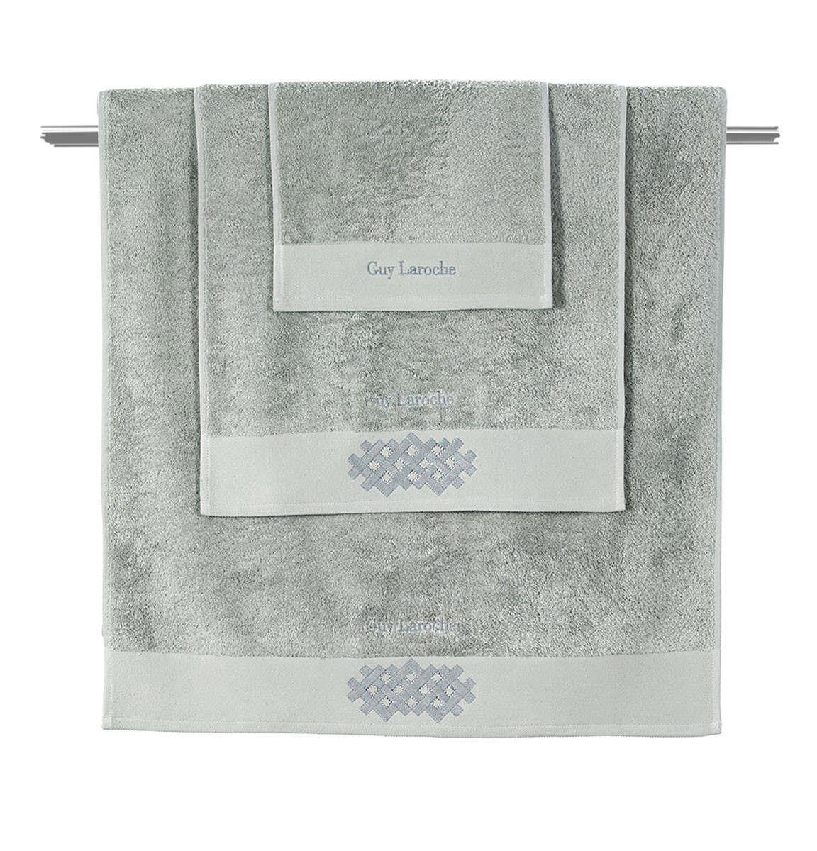 Πετσέτες Μπάνιου (Σετ 3τμχ) Guy Laroche Scope Mint