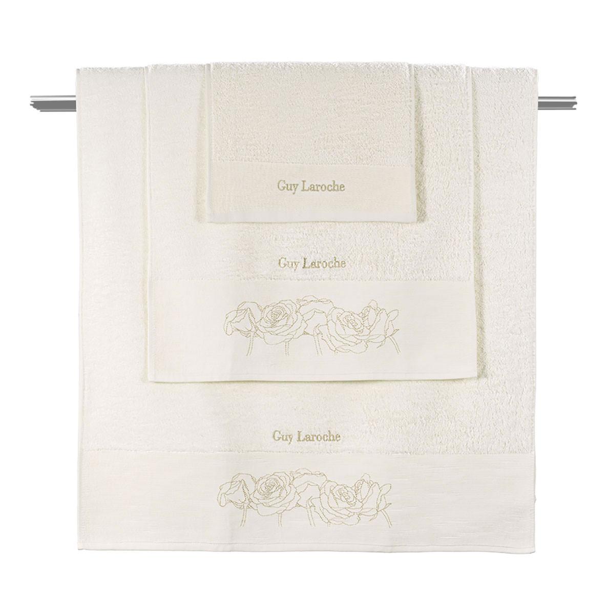 Πετσέτες Μπάνιου (Σετ 3τμχ) Guy Laroche Lady Ivory