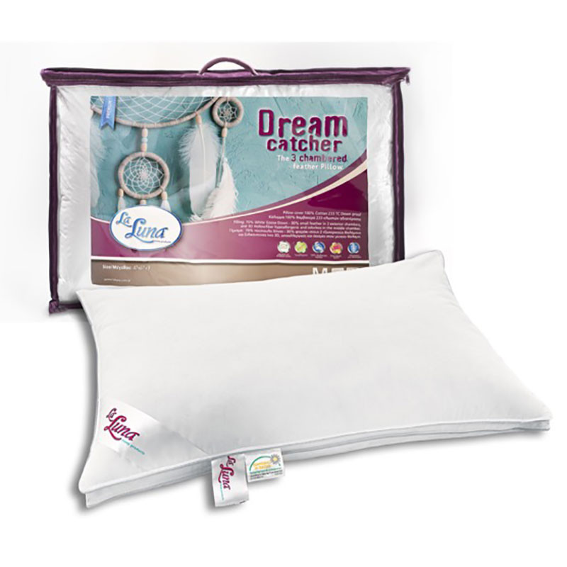 Μαξιλάρι Ύπνου Πουπουλένιο La Luna Dream Catcher Pillow home   κρεβατοκάμαρα   μαξιλάρια   μαξιλάρια ύπνου