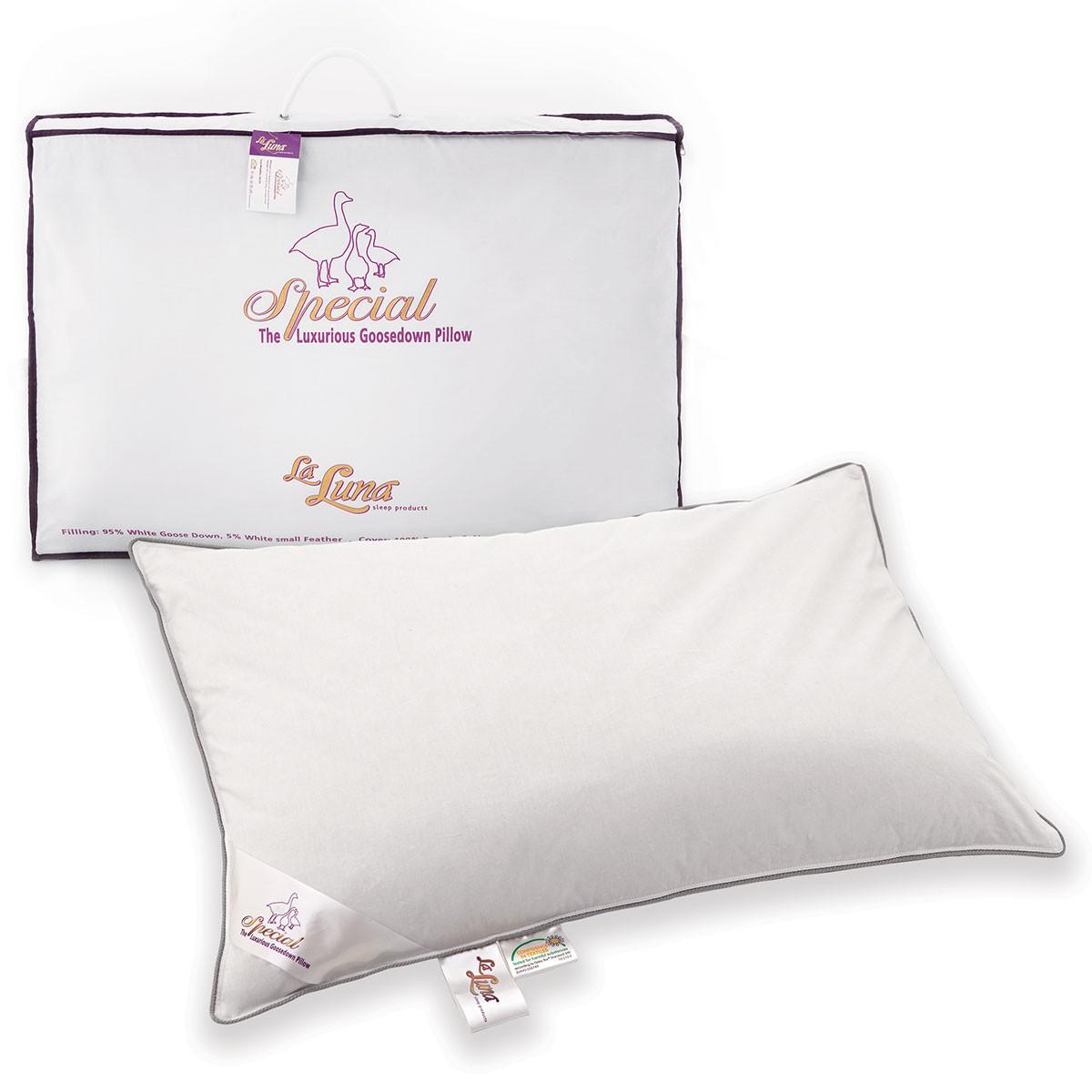Μαξιλάρι Ύπνου Πουπουλένιο La Luna Special Feather Pillow home   κρεβατοκάμαρα   μαξιλάρια   μαξιλάρια ύπνου