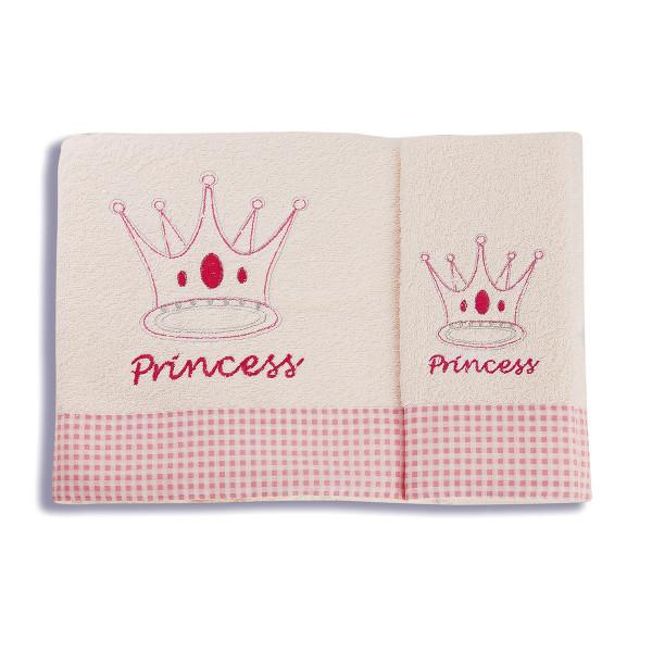 Βρεφικές Πετσέτες (Σετ 2τμχ) Dimcol Princess 34