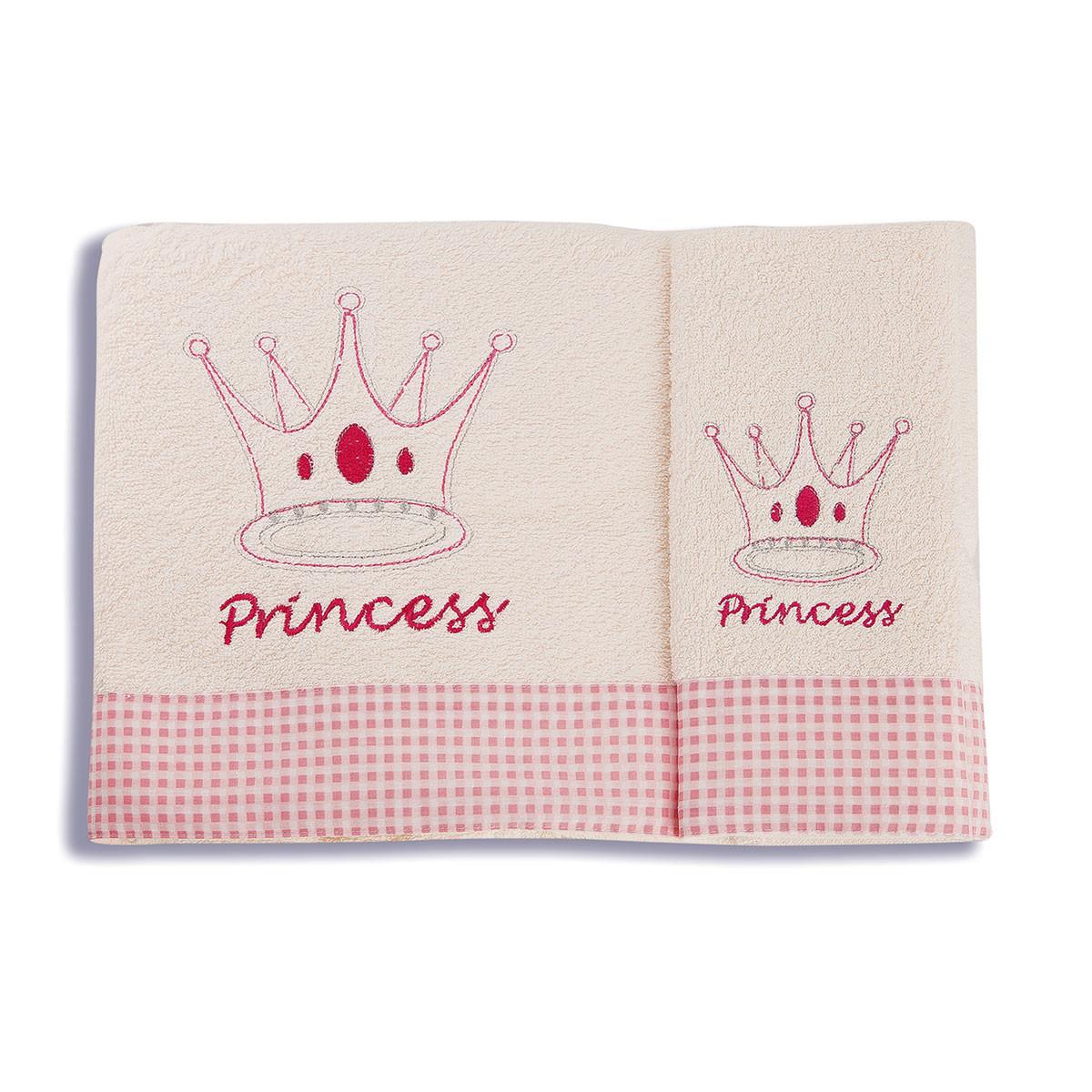 Βρεφικές Πετσέτες (Σετ 2τμχ) Dim Collection Princess 34
