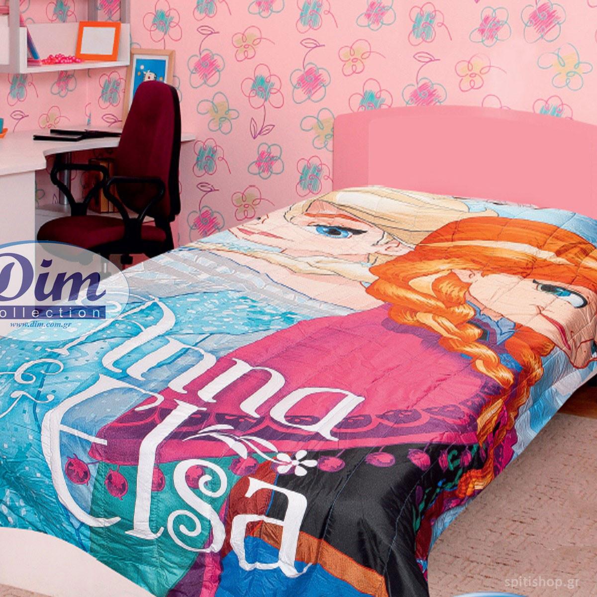 Πάπλωμα Μονό 2 Όψεων Dim Collection Micro Frozen 510