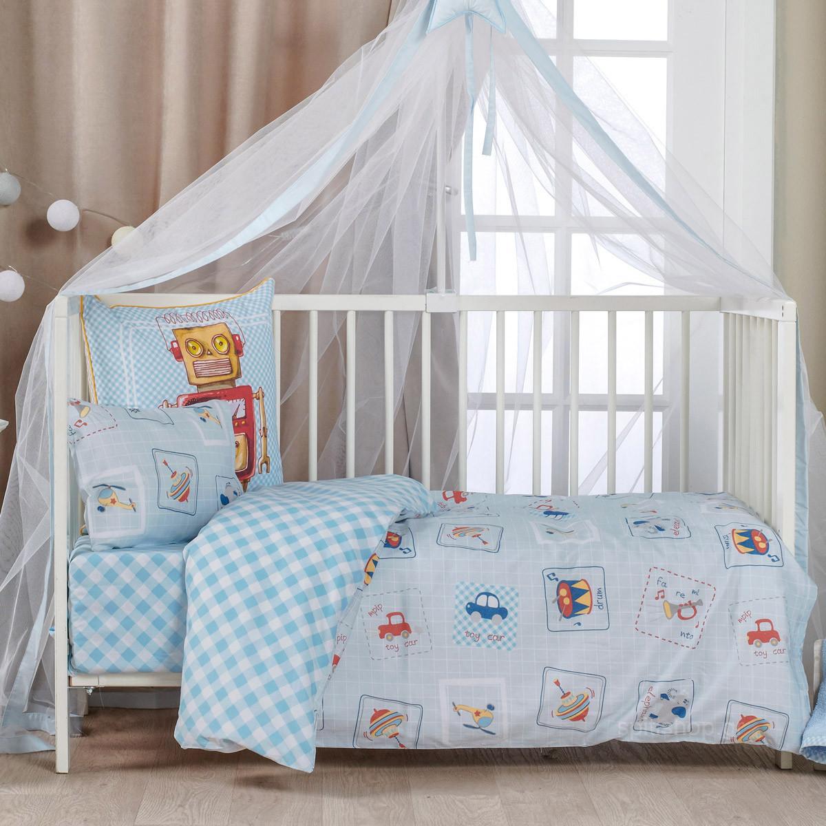 Παπλωματοθήκη Κούνιας (Σετ) Kentia Baby Twister