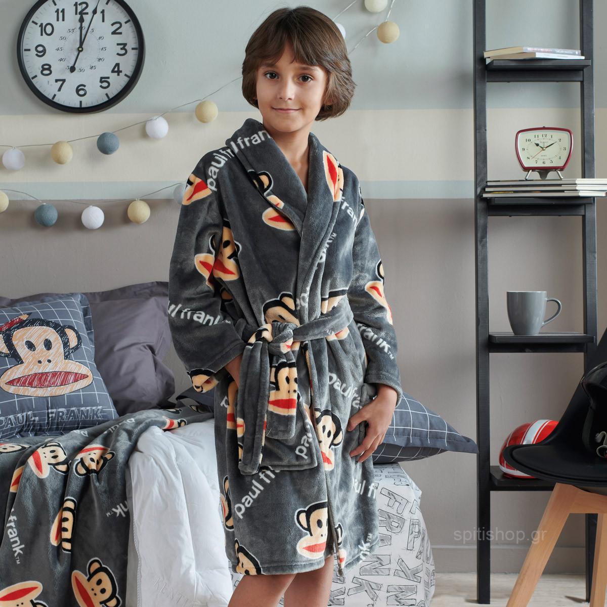 Παιδική Ρόμπα Fleece Kentia Kids Paul Frank 16 Νο12 Νο12