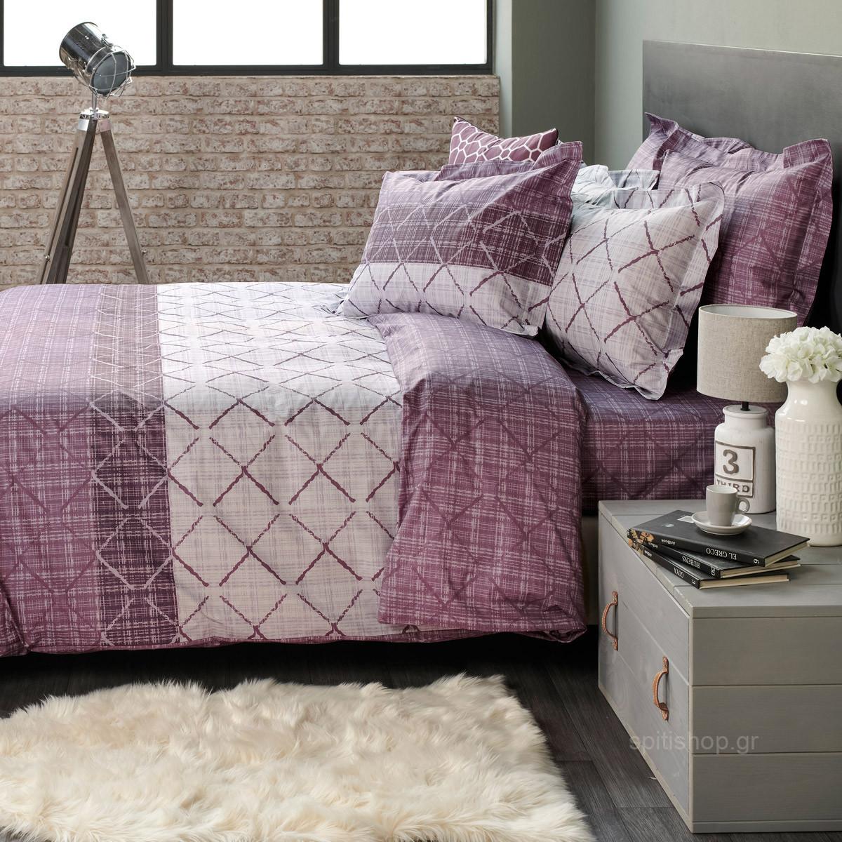 Σεντόνια Υπέρδιπλα (Σετ) Kentia Loft Arragon 42 home   κρεβατοκάμαρα   σεντόνια   σεντόνια υπέρδιπλα