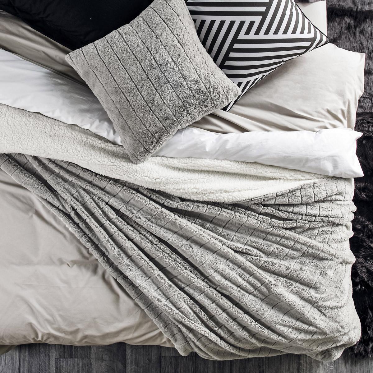 Κουβέρτα Fleece Υπέρδιπλη Kentia Stylish Warmy 182