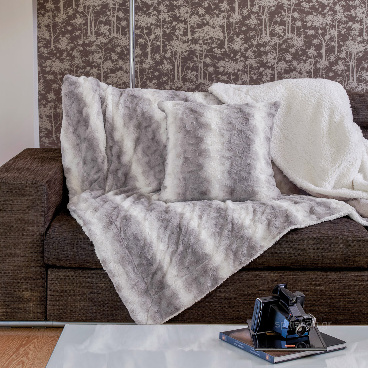 Κουβέρτα Καναπέ Kentia Stylish Warmy 183