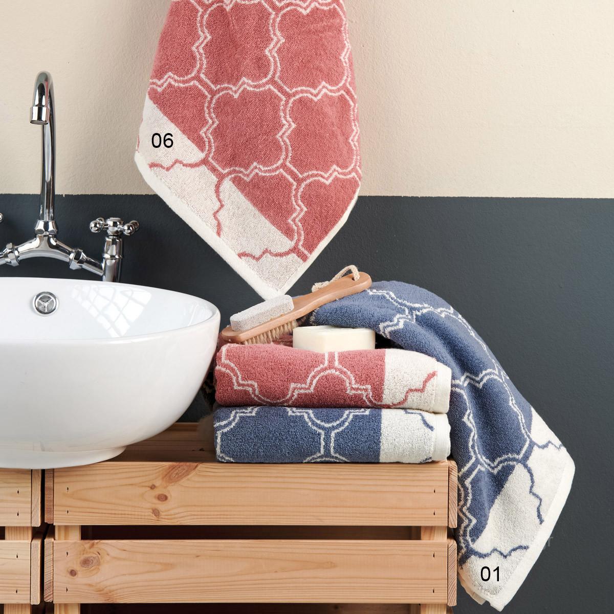 Πετσέτα Προσώπου (50x100) Kentia Bath Ofando home   μπάνιο   πετσέτες μπάνιου