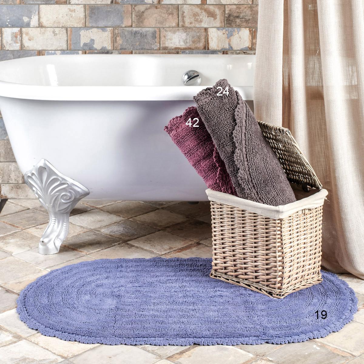 Πατάκι Μπάνιου (50x80) Kentia Bath Kiri home   μπάνιο   πατάκια μπάνιου