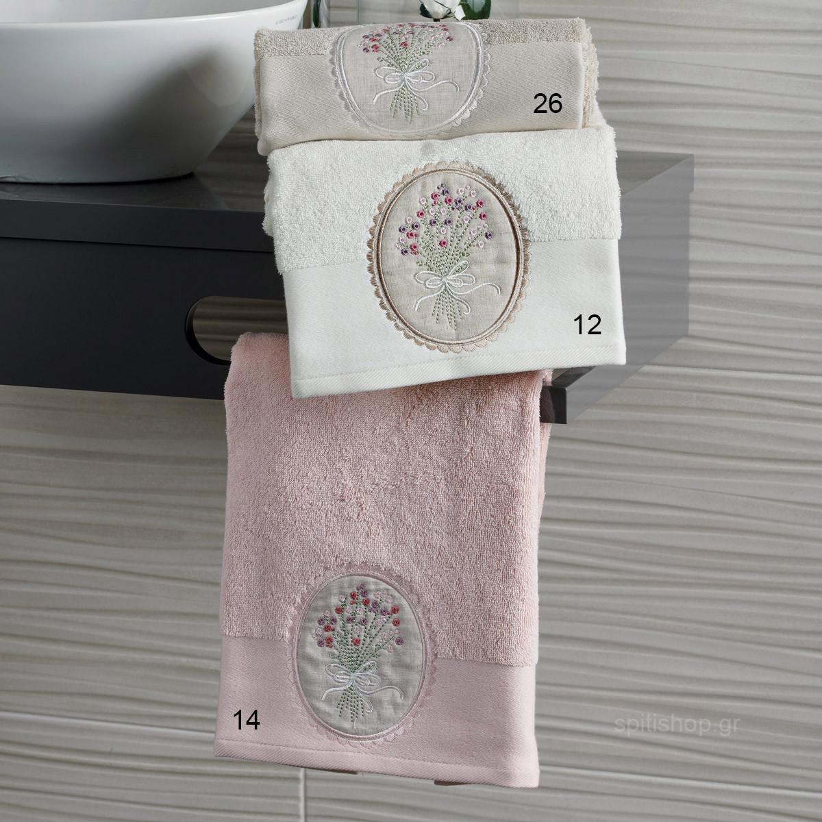 Πετσέτες Μπάνιου (Σετ 3τμχ) Kentia Bath Elena home   μπάνιο   πετσέτες μπάνιου