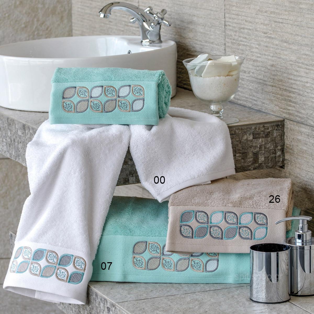 Πετσέτα Χεριών (30x50) Kentia Bath Asia home   μπάνιο   πετσέτες μπάνιου