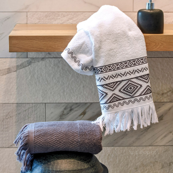 Πετσέτες Προσώπου (Σετ 2τμχ) Kentia Bath Brenda 22