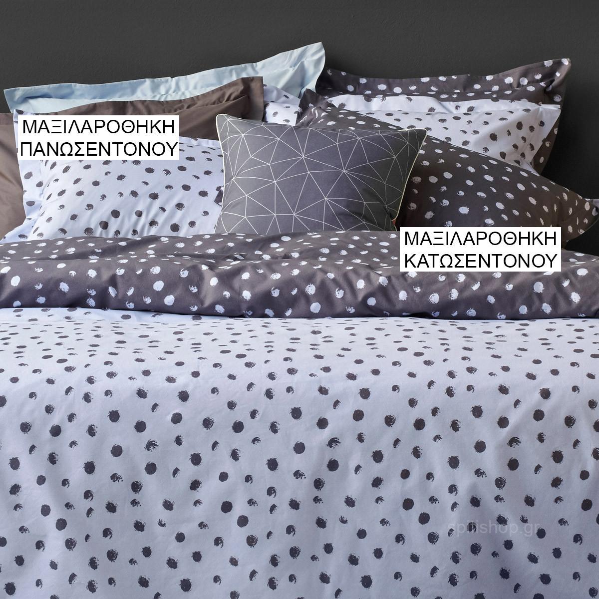 Ζεύγος Μαξιλαροθήκες Oxford Kentia Versus Flakes 38 home   κρεβατοκάμαρα   μαξιλάρια   μαξιλαροθήκες