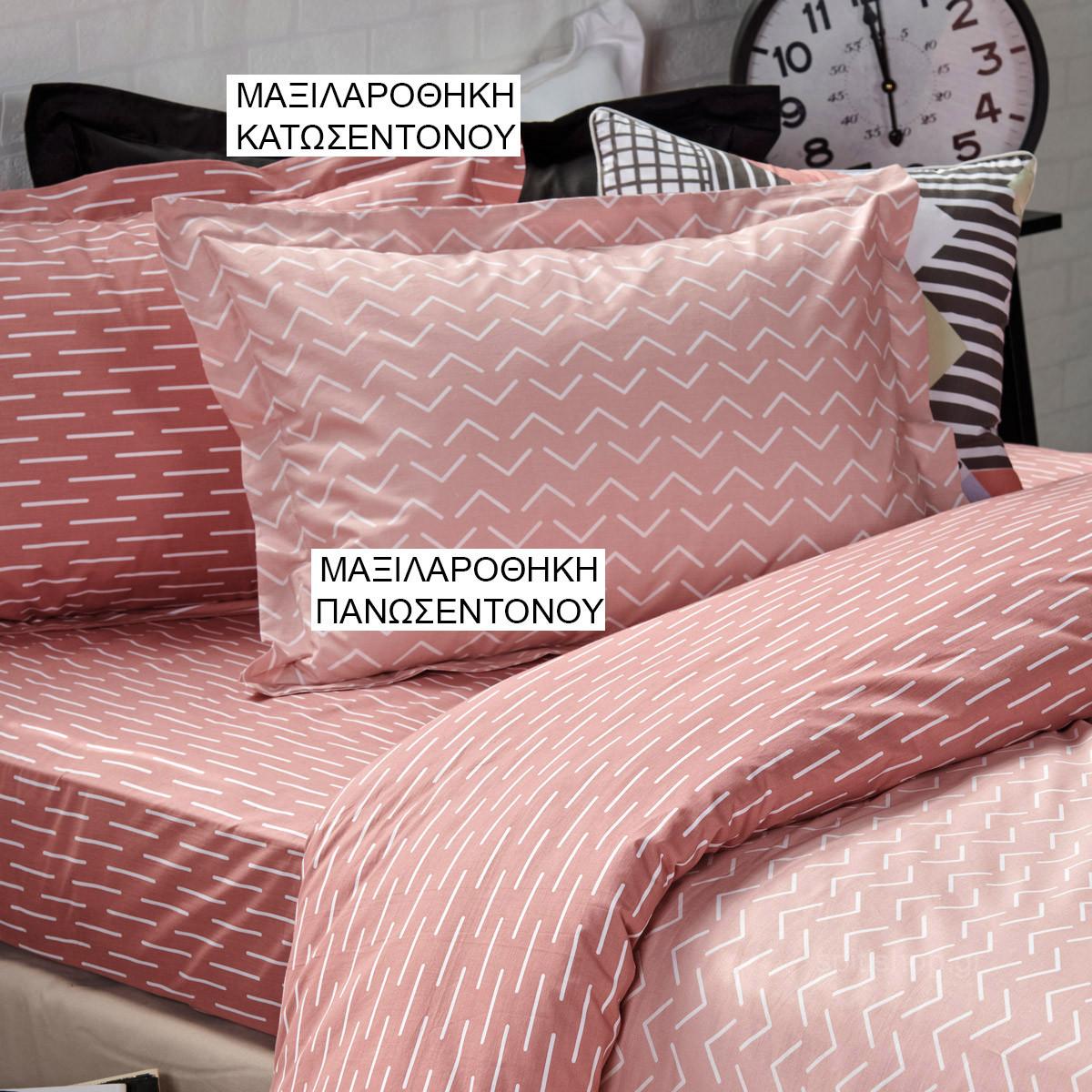 Ζεύγος Μαξιλαροθήκες Oxford Kentia Versus Gio 18 home   κρεβατοκάμαρα   μαξιλάρια   μαξιλαροθήκες