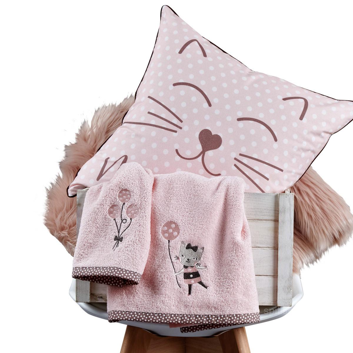 Βρεφικές Πετσέτες (Σετ 2τμχ) Kentia Baby Kitty