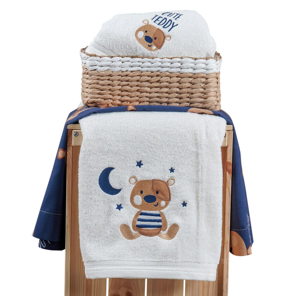 Βρεφικές Πετσέτες (Σετ 2τμχ) Kentia Baby Pookie