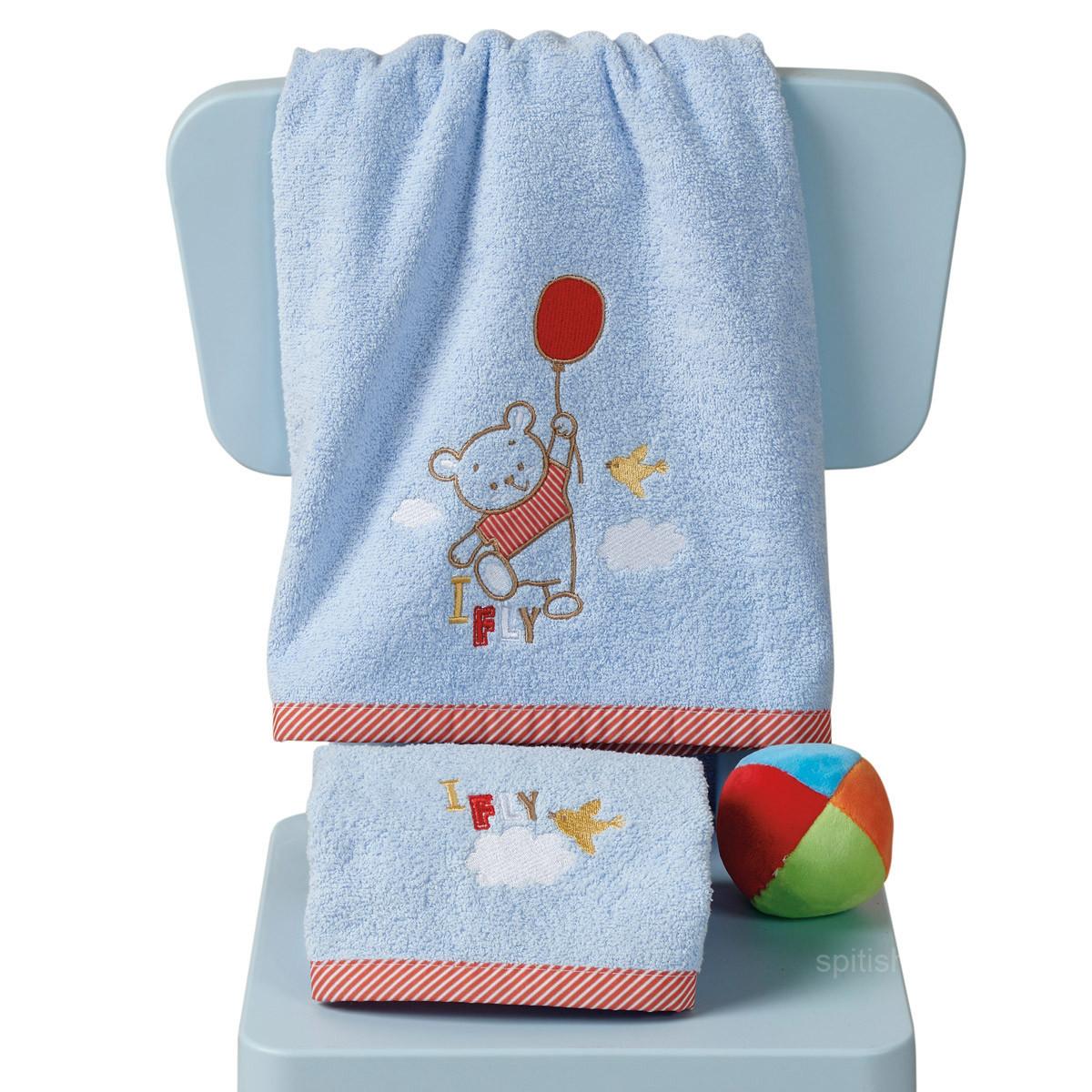 Βρεφικές Πετσέτες (Σετ 2τμχ) Kentia Baby Balloon