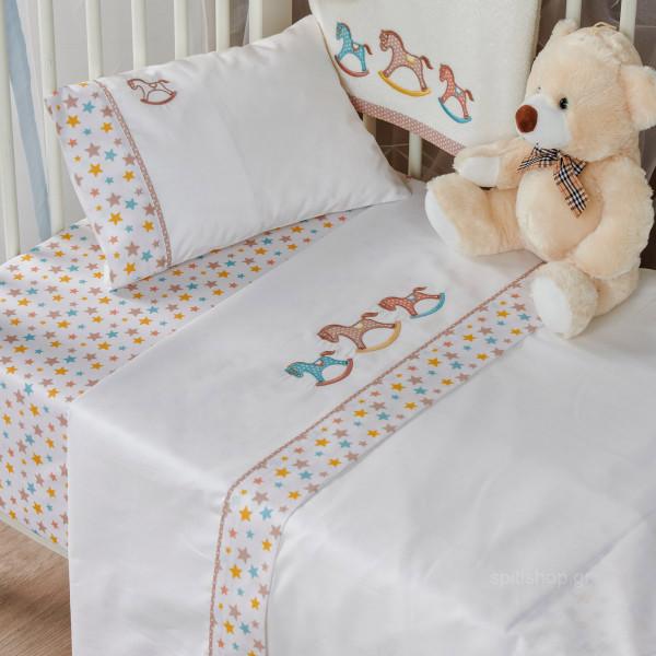 Σεντόνια Κούνιας (Σετ) Kentia Baby Carousel