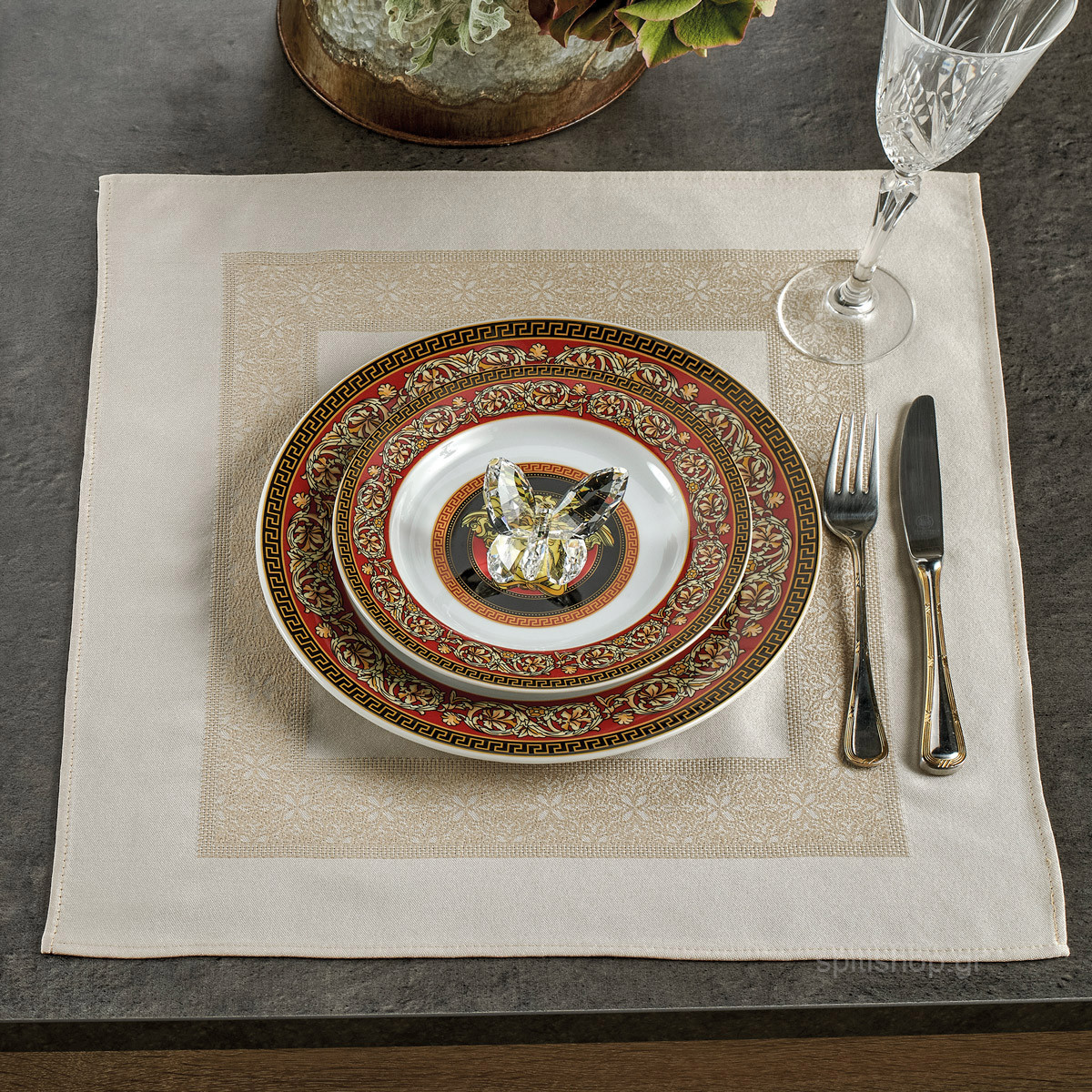 Πετσέτες Φαγητού (Σετ 4τμχ) Kentia Home Made Appetito 11