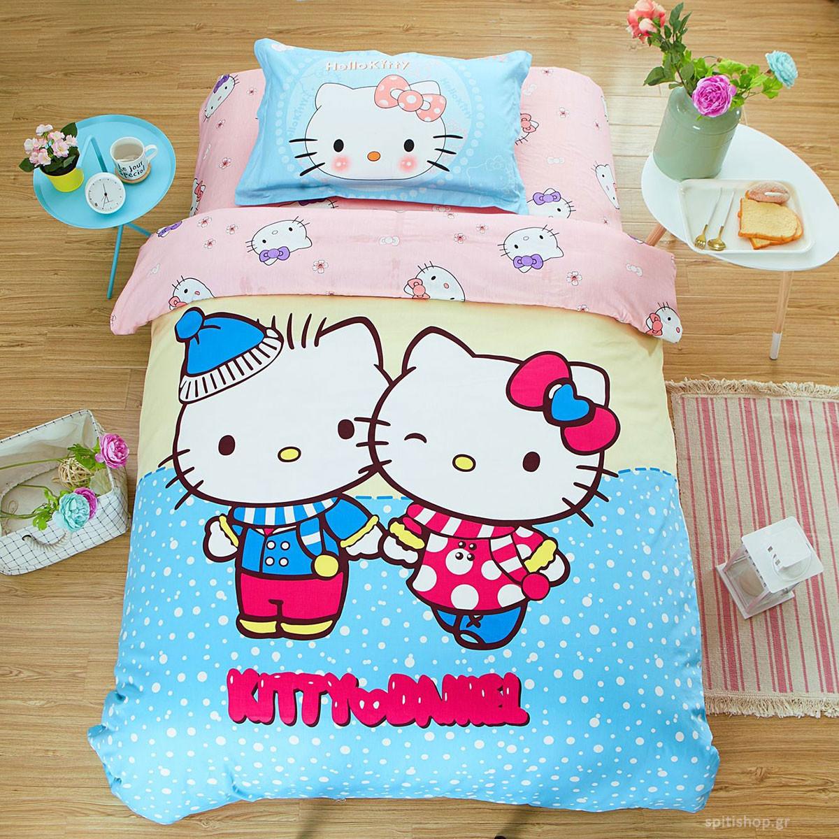 Πάπλωμα Μονό MC Decor Kids Kitty 4758