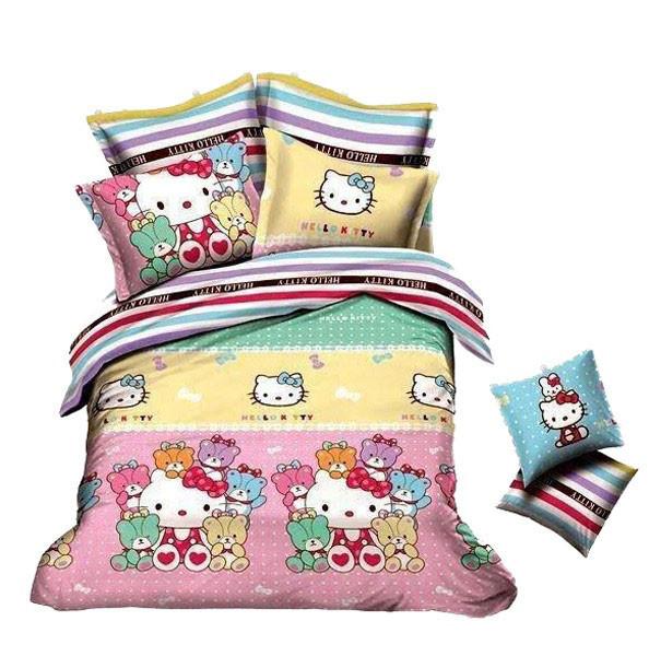 Παπλωματοθήκη Μονή (Σετ) MC Decor Kids Hello Kitty