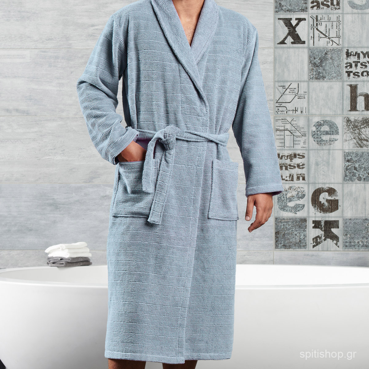Μπουρνούζι Kentia Bath Aramis 19 MEDIUM MEDIUM home   μπάνιο   μπουρνούζια