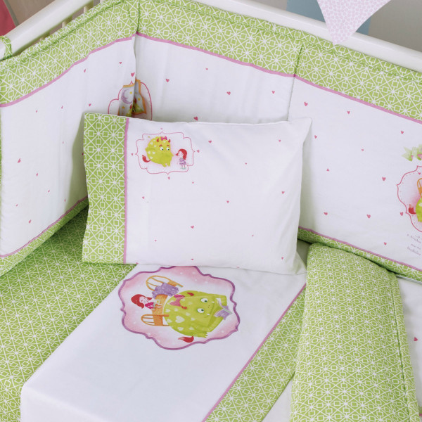 Σεντόνια Κούνιας (Σετ) Kentia Baby Fairy Tale 14