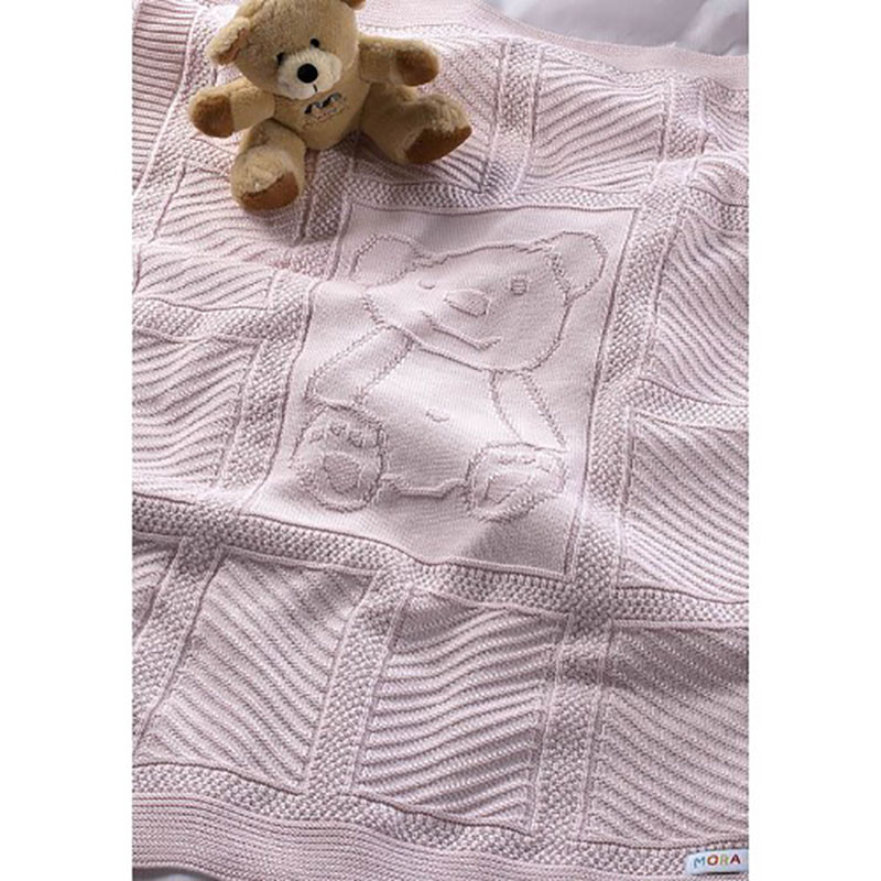 e9849d6cd09 -15% Spiti Shop Κουβέρτα Πλεκτή Αγκαλιάς Morven Haley 817 Pink