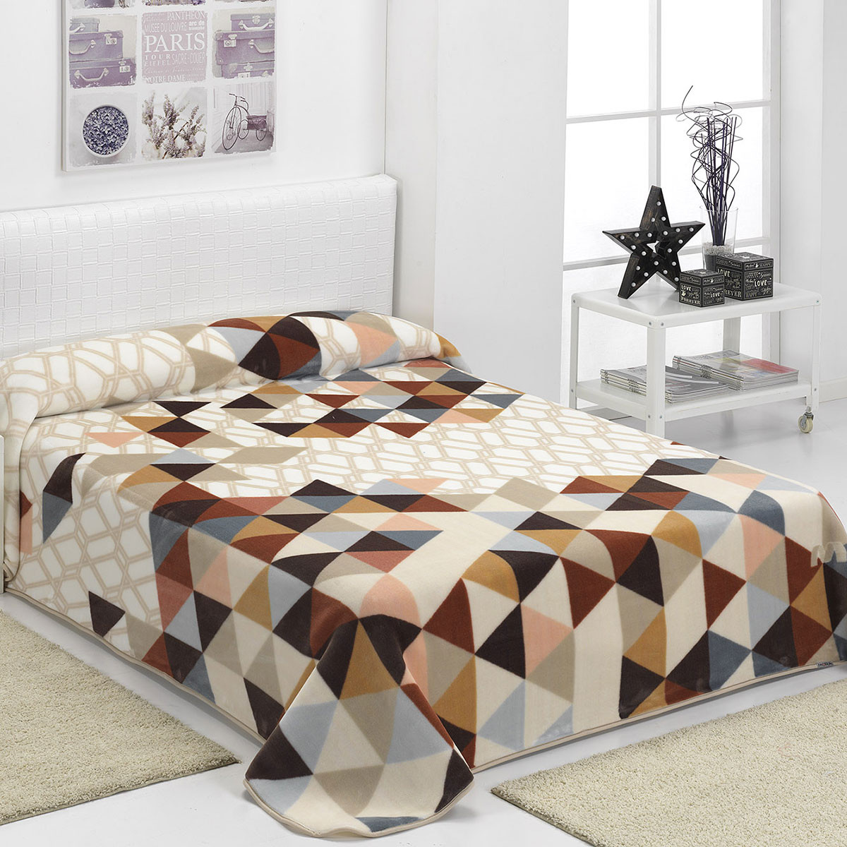 Κουβέρτα Βελουτέ Υπέρδιπλη Morven Harmony E27/33