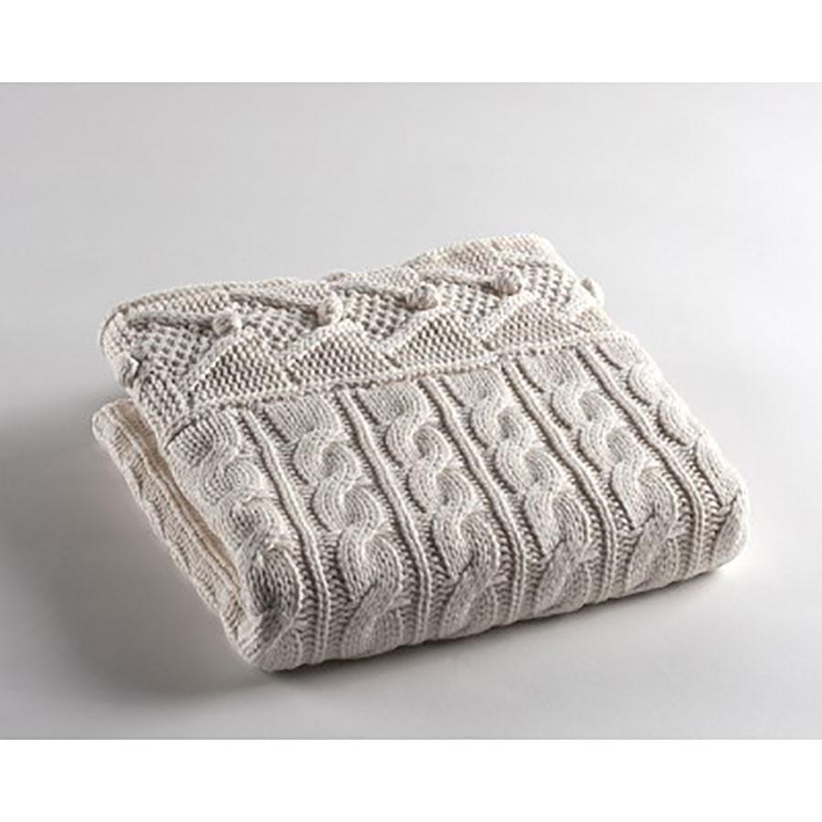 Κουβέρτα Πλεκτή Αγκαλιάς Morven Nube 812